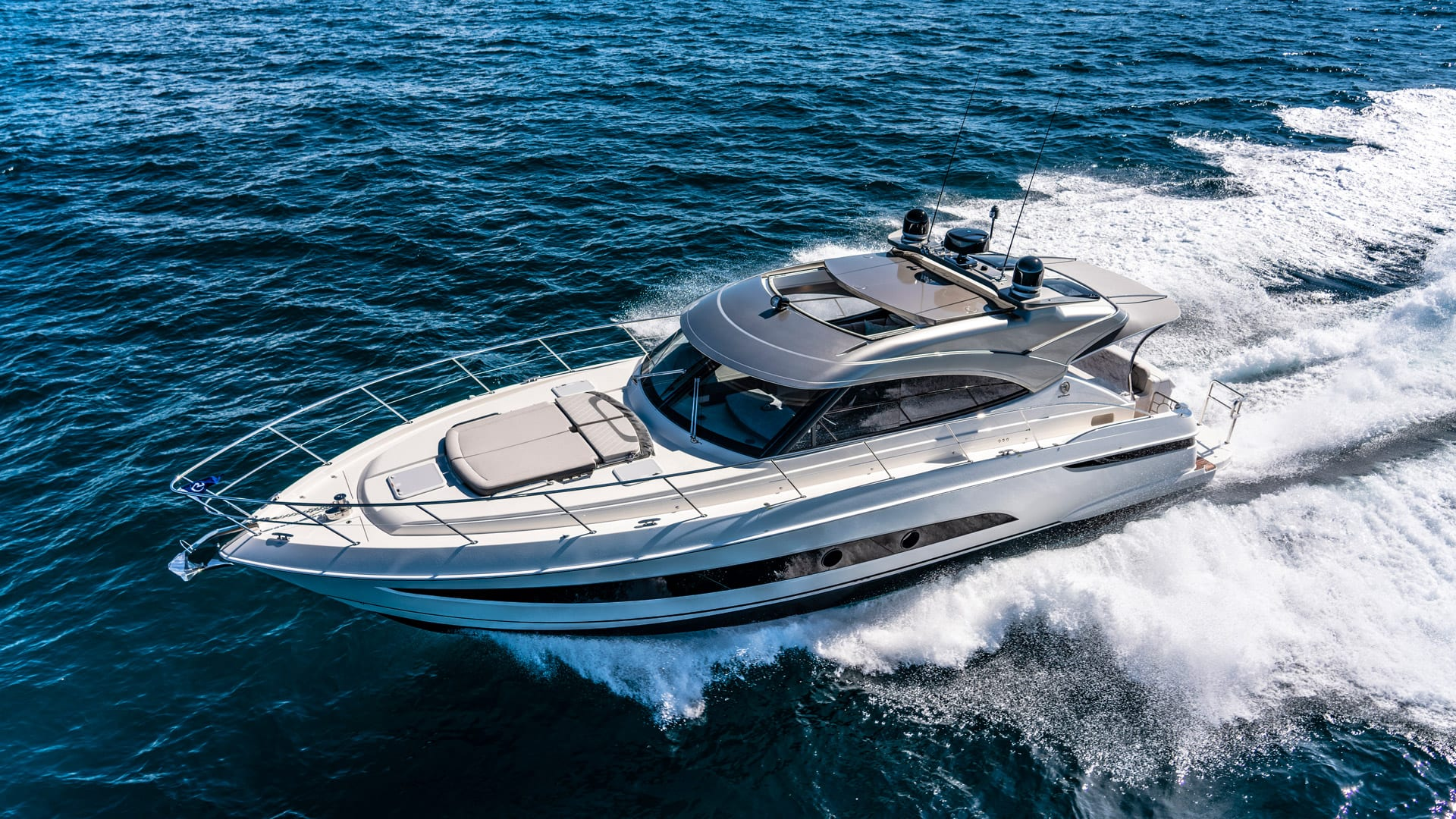 Image result for riviera 48700 sports yacht